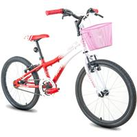 Bicicleta Houston Nina NN20O Aro 20 Monovelocidade com Cesta