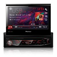 "Auto Rádio Pioneer AVH-3880DVD DVD Tela 7"" USB AM FM MP3"