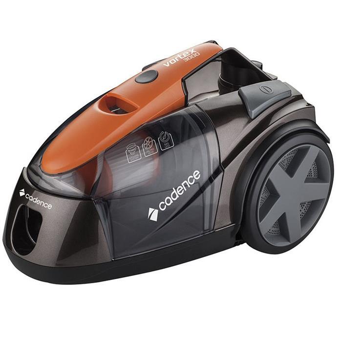 Aspirador de Pó Cadence Vortex 3000 ASP700 Horizontalcom Filtro HEPA