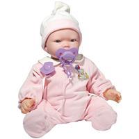 Boneca Baby Brink 1817 Bebê Carinhas Movimento Facial