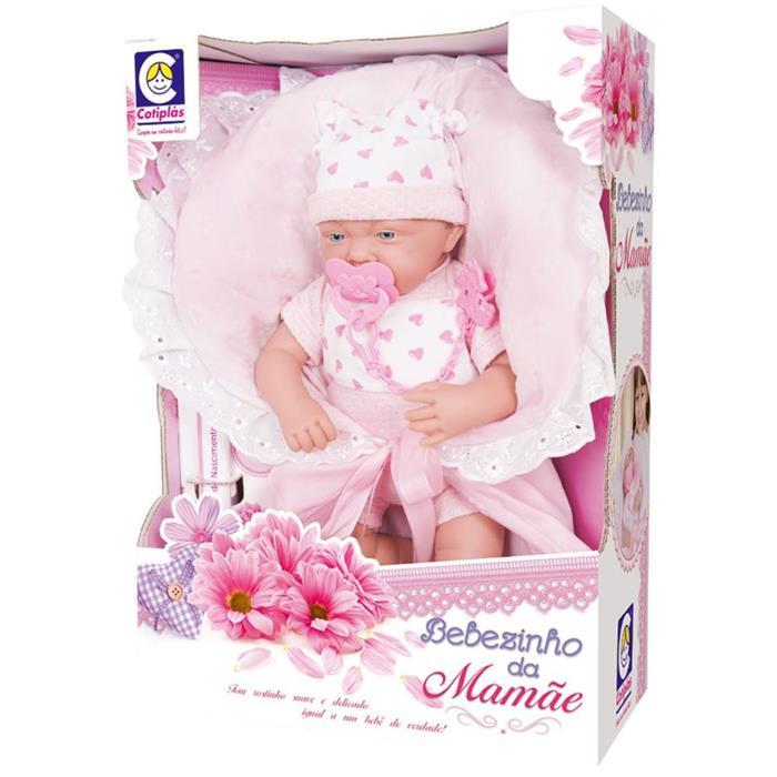 Boneca Cotiplás Bebezinho da Mamãe 2082