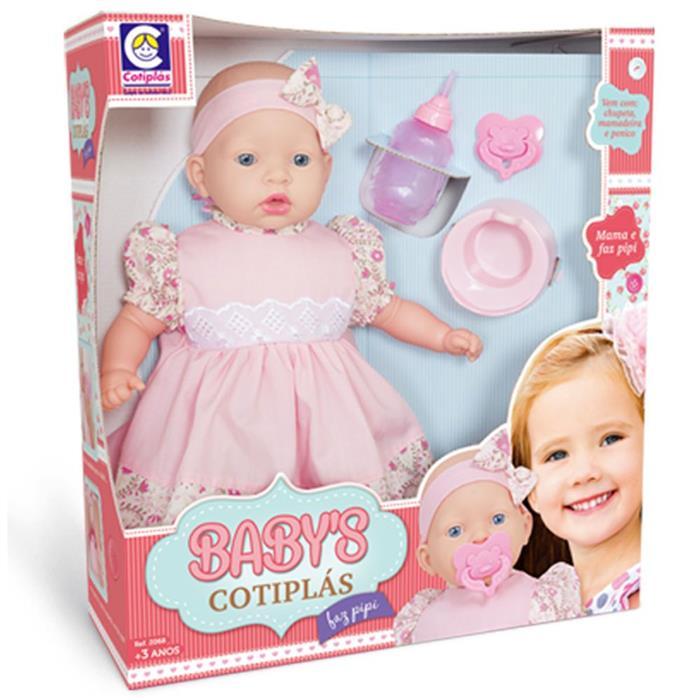 Boneca Cotiplás Mama e Faz Pipi 2068