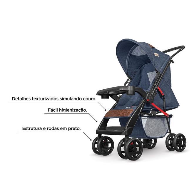 Carrinho de Bebê Tutti Baby 03900 Reclinável