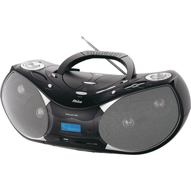 Rádio Philco PH229N FM USB SD MP3