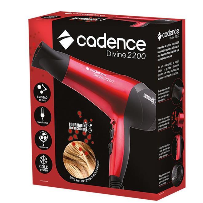 Secador de Cabelo Cadence SEC156 2 Velocidades