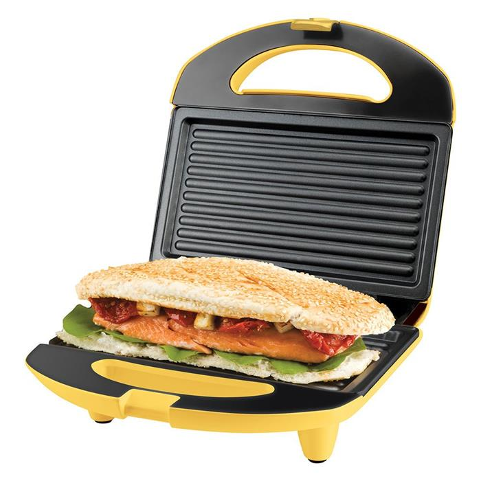 Sanduicheira Cadence Minigrill Easy Meal Colors SAN234 Amarelo