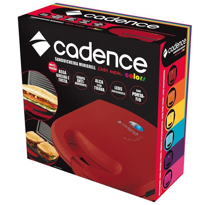 Sanduicheira Cadence Minigrill Colors SAN231 Antiaderente