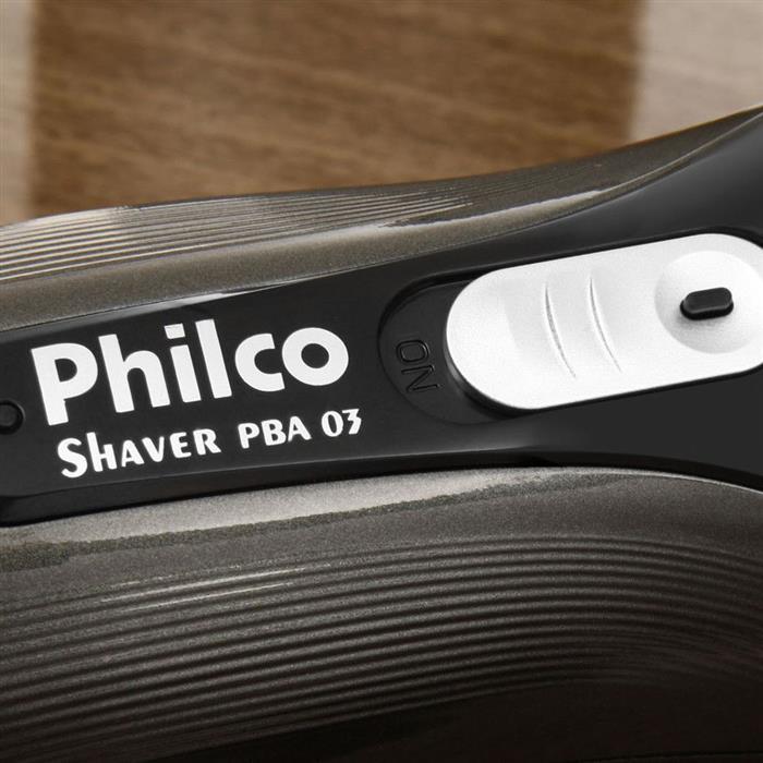 Barbeador Elétrico Philco Shaver PBA03 Recarregável