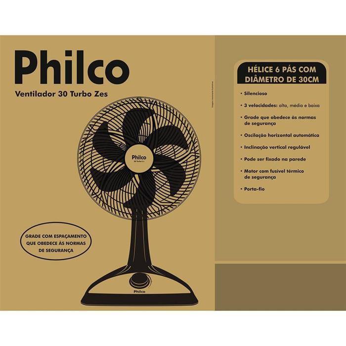 Ventilador Philco Master Power 30 Zes 30cm