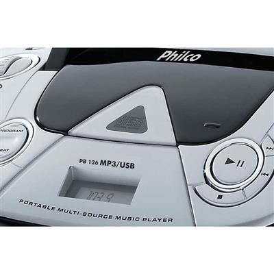 Rádio Philco PB126 FM USB CD