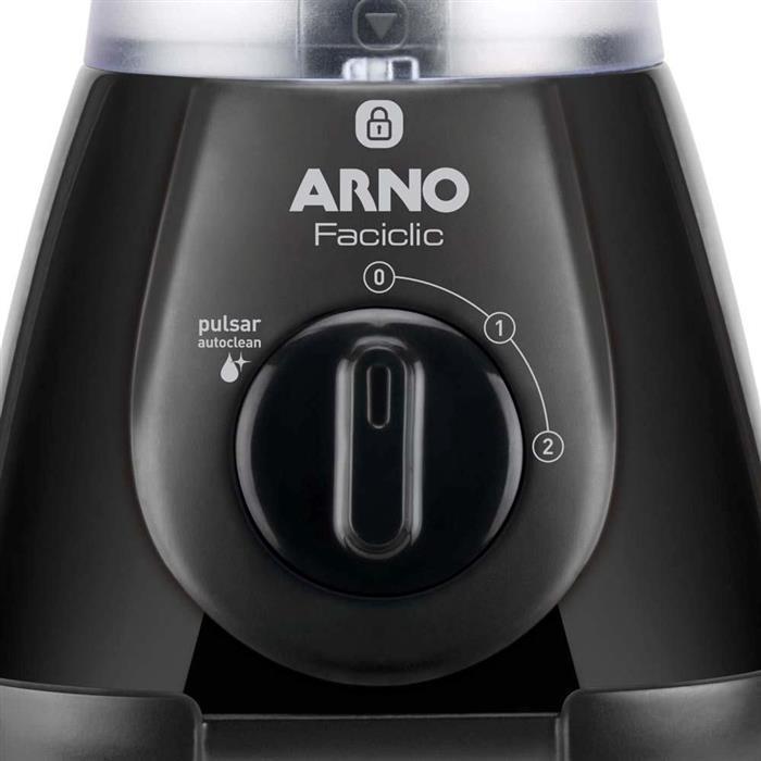 Liquidificador Arno New Faciclic LN38 2 Velocidades com Filtro