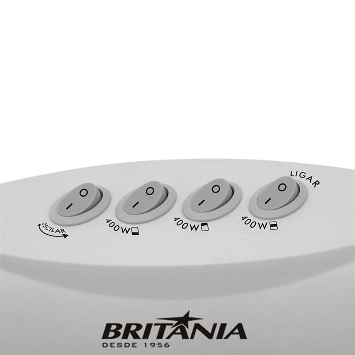 Aquecedor Britânia AB1200BR Alógeno 1200W