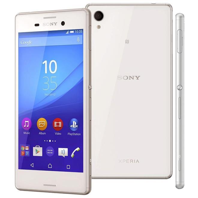 Celular Smartphone Sony Xperia M4 Aqua E2363 16gb Branco - Dual Chip