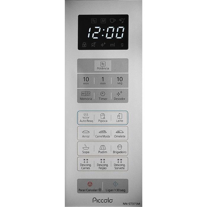 Microondas Panasonic Piccolo NN-ST375MRU 25 Litros 800W