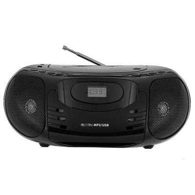Rádio Philco PB119N FM MP3 USB Entrada Auxiliar