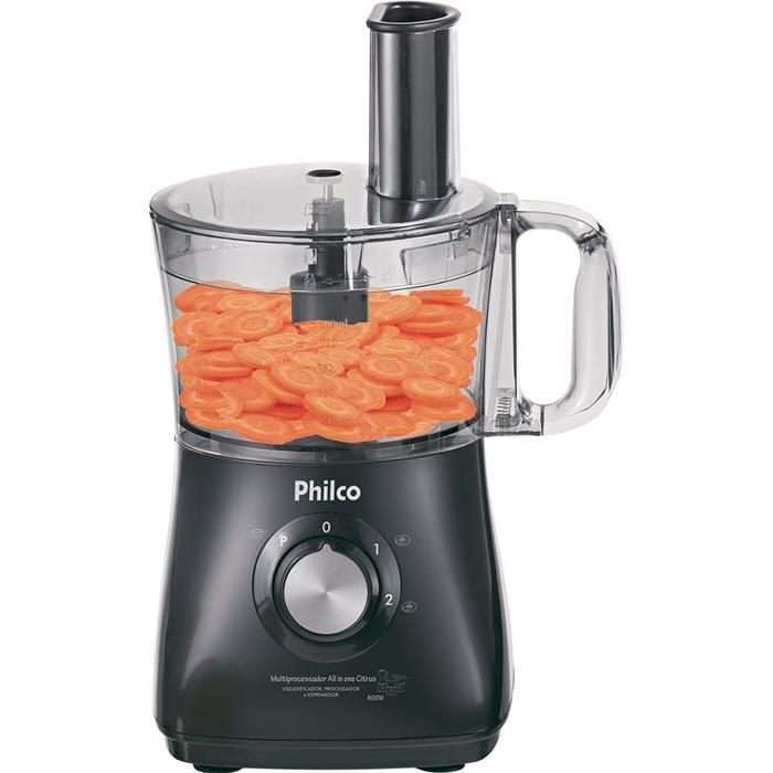 Multiprocessador Philco All In One PR Citrus 2 Velocidades 800W