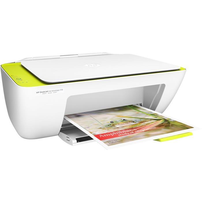 Impressora Multifuncional HP DeskJet Ink Advantage 2136 USB