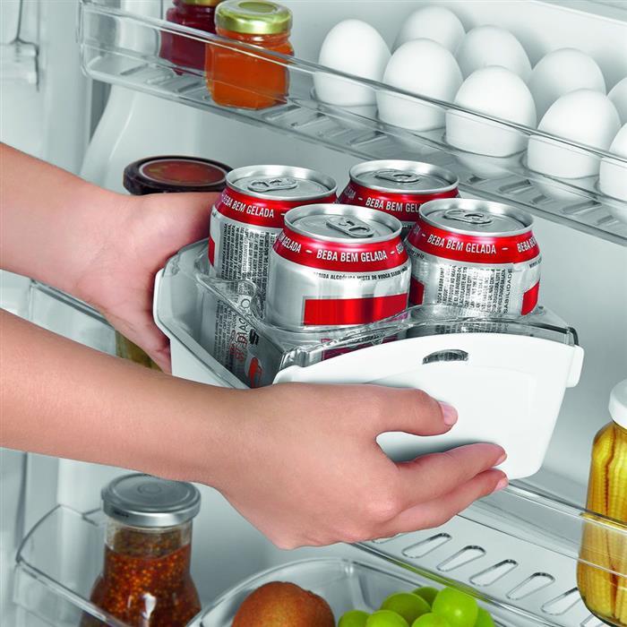 Refrigerador Brastemp Clean BRM39 352 Litros Frost Free Duplex