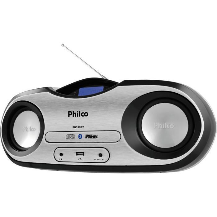 Rádio Philco PB329BT MP3 FM USB Bluetooth