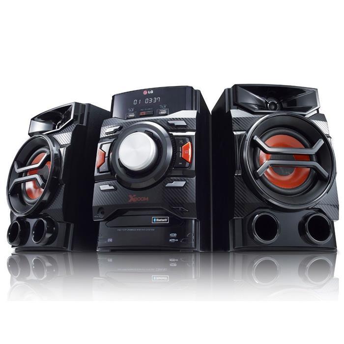 Mini System LG 220W CM4350 USB Bluetooth MP3 Entrada Auxiliar