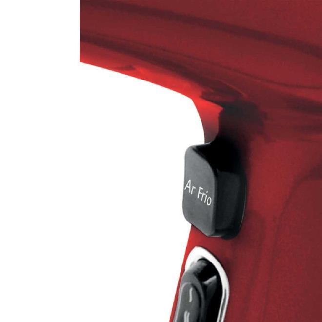 Secador de Cabelo Philco PH3400 2 Velocidades 3 Temperaturas Vermelho/Preto