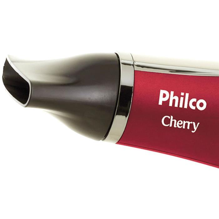 Secador de Cabelo Philco Cherry 2 Velocidades 3 Temperaturas