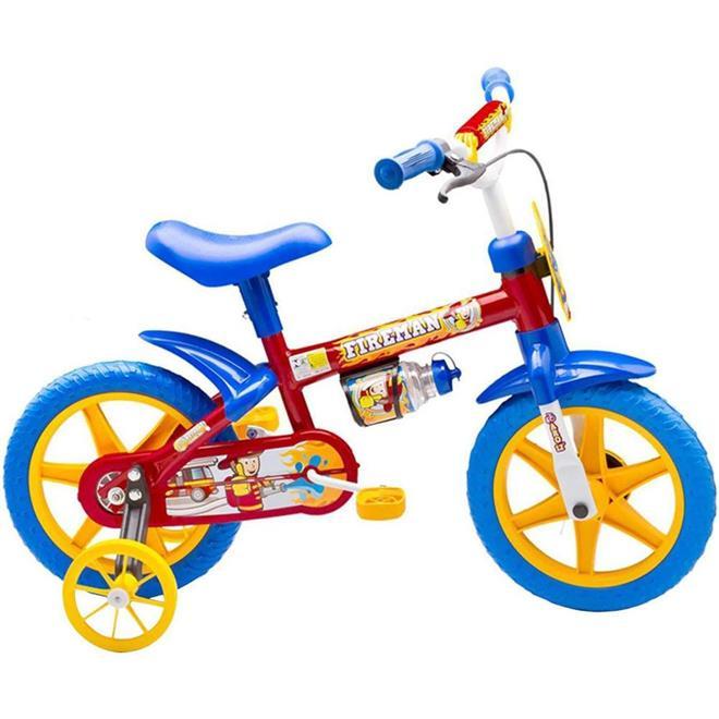 Bicicleta Infantil Nathor Fireman Aro 12