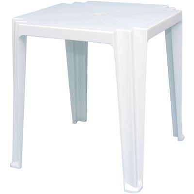 Mesa Tramontina Tambau 92314010 Quadrada Plástico Branco