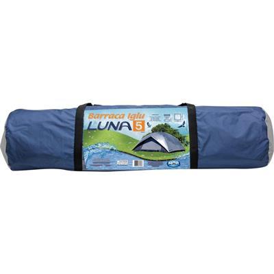 Barraca Mor Luna 7438 5 pessoas Coluna D'água Silvercoating
