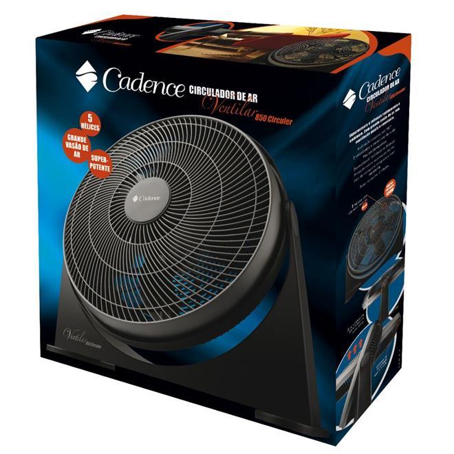 Circulador Cadence VTR850 3 Velocidades