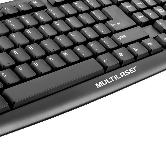 Teclado Multilaser Slim Standard TC065 USB