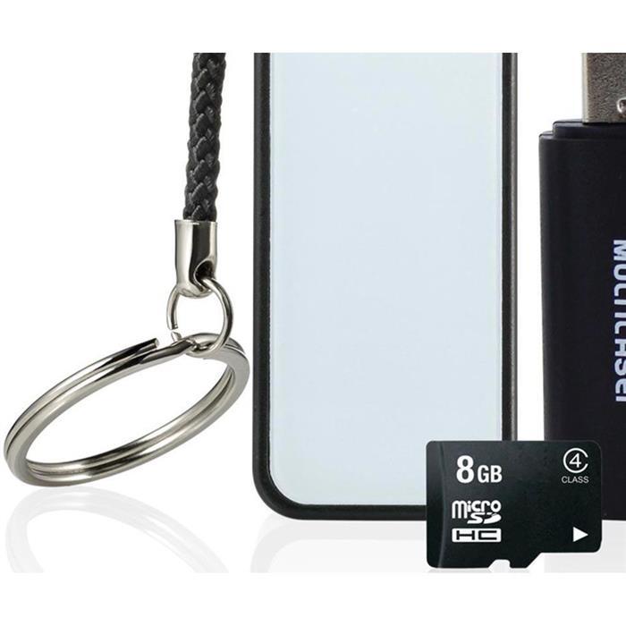 Kit Multilaser MC200 com Power Bank + Cartão de Memória 8GB + Adaptador