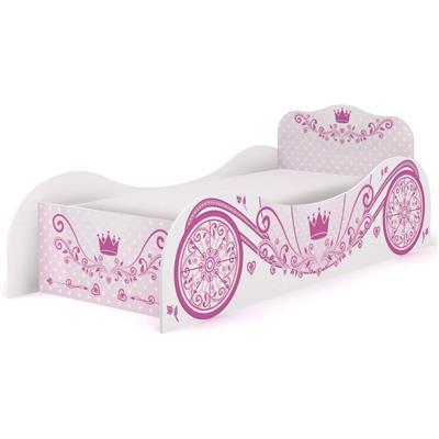 Cama Infantil Kappesberg D310 Carruagem Rosa