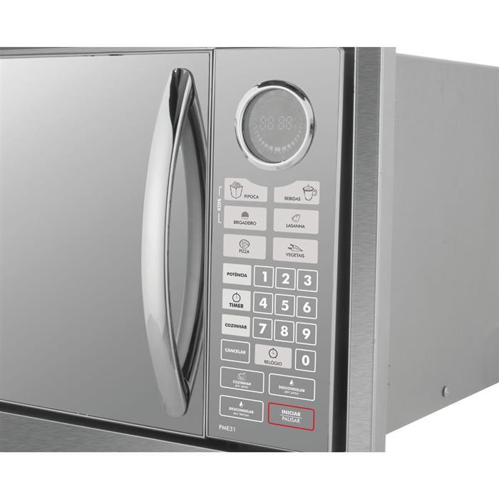 Microondas Philco PME31BM Embutir 30 Litros 1400W
