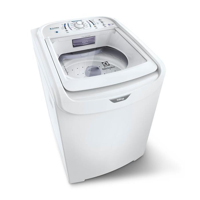 Lavadora de Roupas Electrolux Turbo Economia LTD16 16Kg Branco