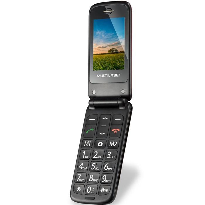 Celular Multilaser Flip Vita P9020/P9021 Dualchip Bluetooth MP3