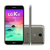 "Smartphone LG K10 Novo 32GB Octacore HD 4G Câm 13MP + Frontal 5MP Tela 5.3"""