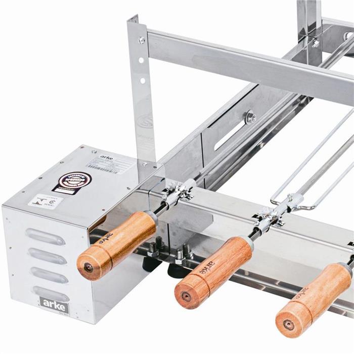 Churrasqueira Elétrica Arke GBI05 Rotativa 5 Espetos