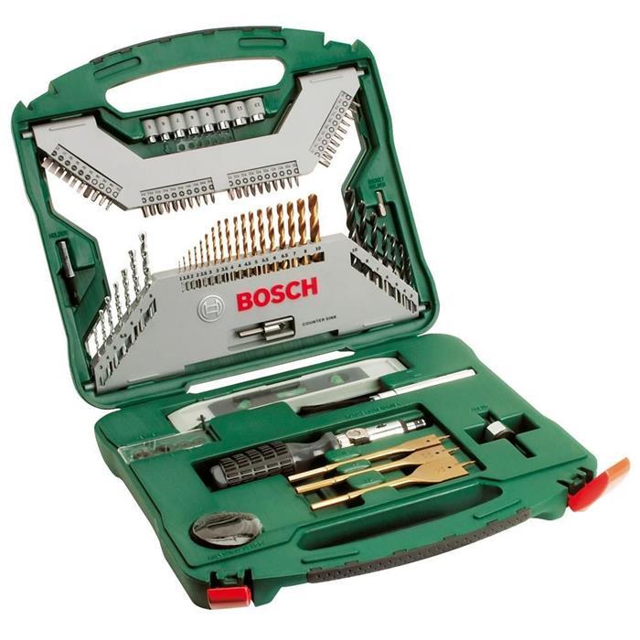 Kit de Acessórios Bosch X-line 100 Peças Titânio