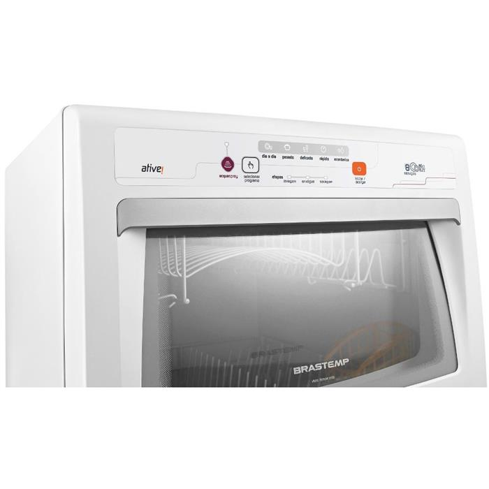Lava-louça Brastemp BLF08 8 Serviços Branco