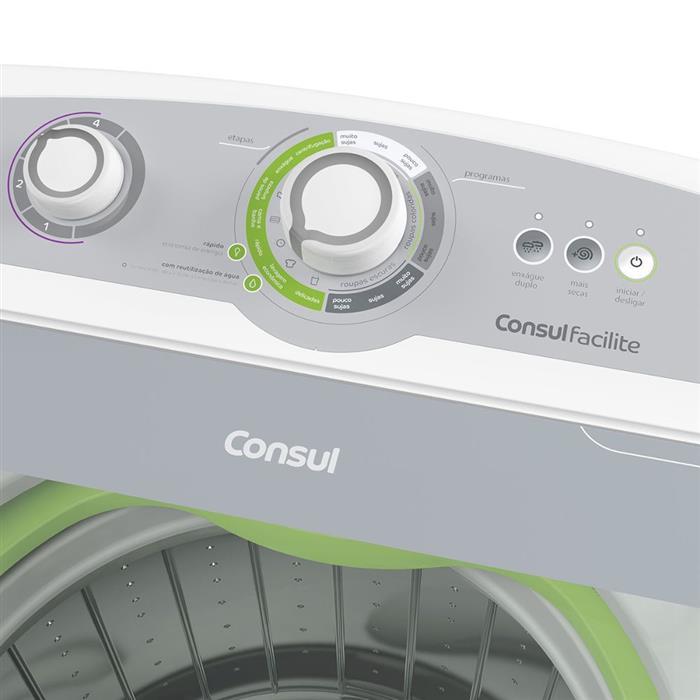 Lavadora de Roupas Consul Facilite CWG12A 11,5kg Branco
