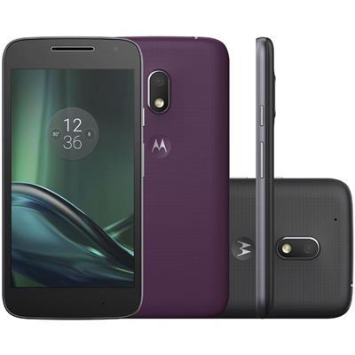 "Smartphone Motorola Moto G4 Play Colors Quadcore 2GB RAM 16GB Tela 5"" Dualchip Câmera 8MP + Frontal 5MP"