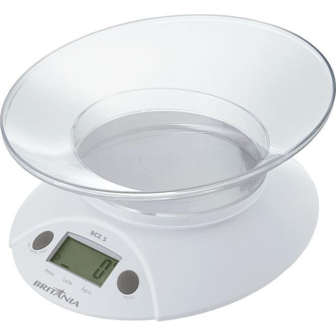 Balança de Cozinha Britânia BCZ5 5kg