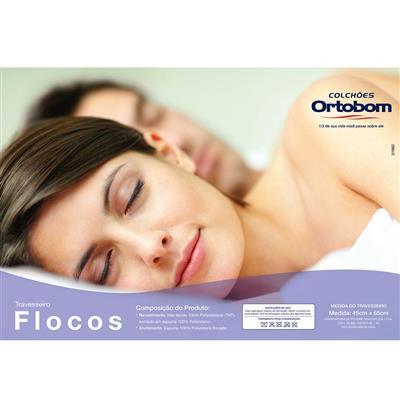 Travesseiro Ortobom Flocado 45x65cm