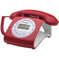 Telefone Fixo Intelbras Retro TC 8312 com Fio