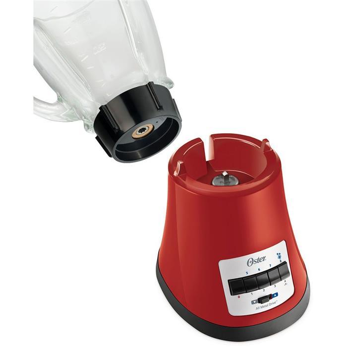 Liquidificador Oster Multi Chef BLSTMG-RD0 8 Velocidades Copo de Vidro