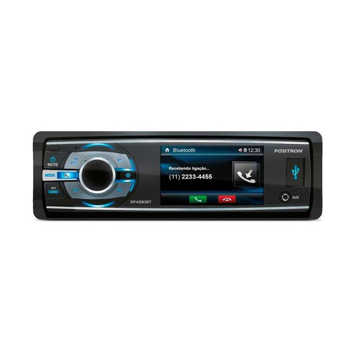 Auto Rádio Positron SP4330BT com DVD MP3 USB CD