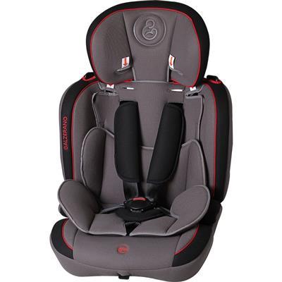 Cadeira para Auto Galzerano Dorano 8035 até 36kg Cinto de Segurança de 5 Pontos Grafite