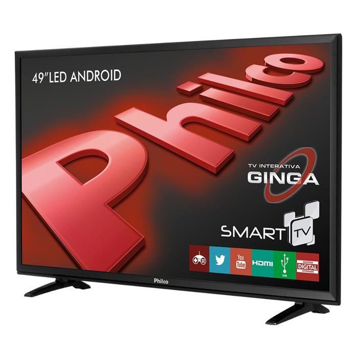 "Smart TV Philco PH49E20DSGWA 49"" LED Full HD USB HDMI Connect"