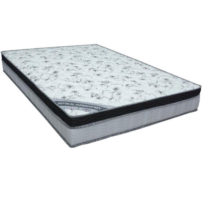 Colchão Casal Ortobom Physical Molas Pocket 138x188x24cm